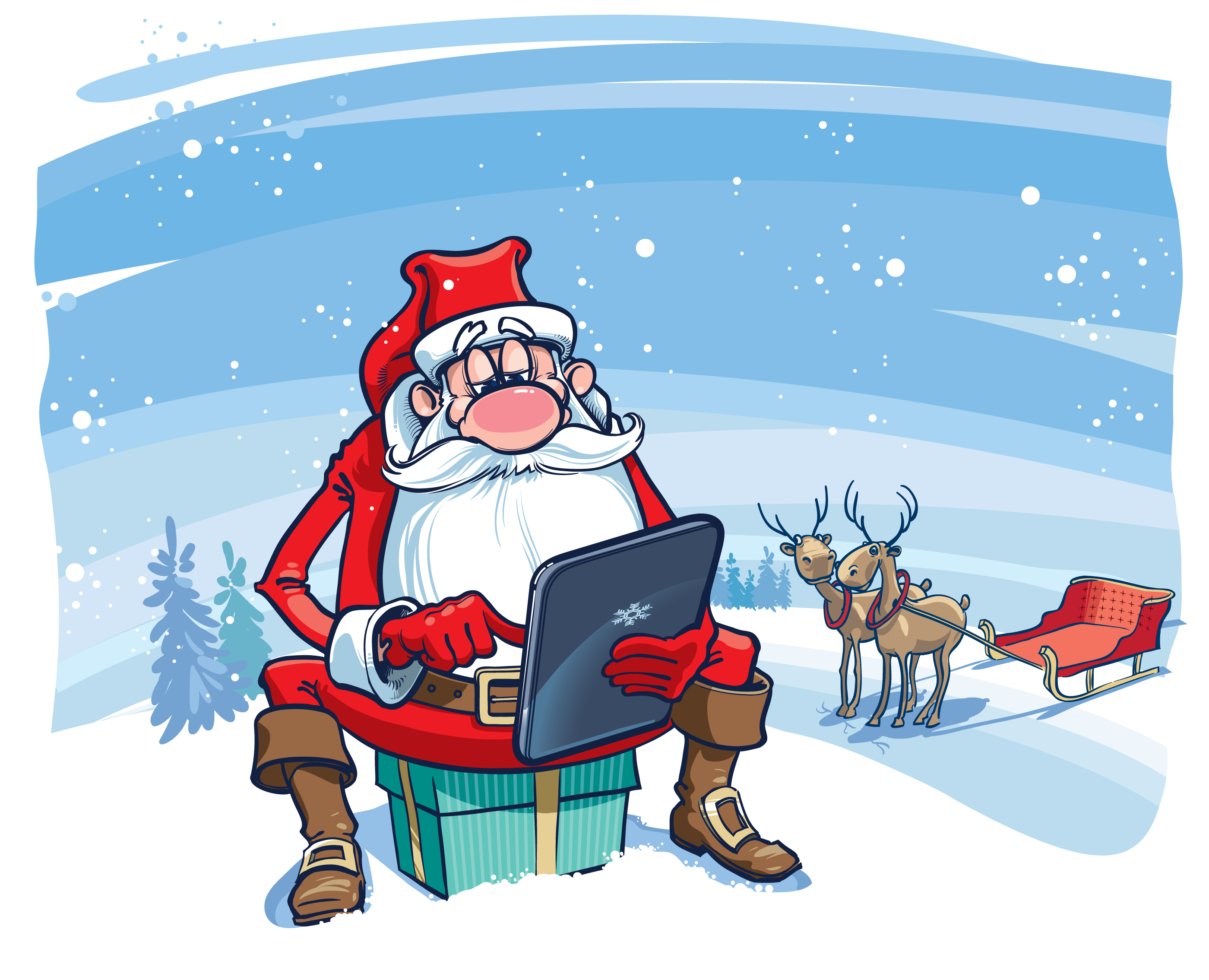 TIBCO Spotfire as Santa's helper
