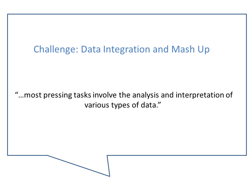 Data Integration and Mash up